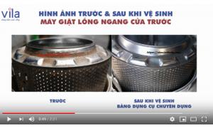 Video dịch vụ vệ sinh máy giặt tại nhà ở TPHCM